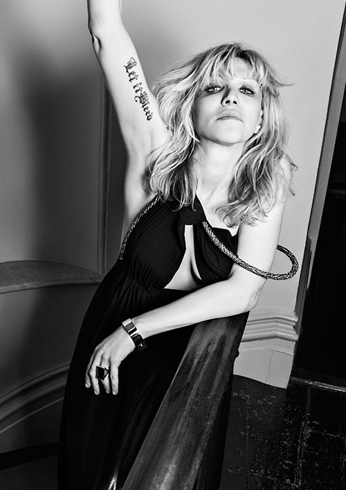 Courtney Love | Hedi Slimane | Saint Laurent Music Project